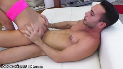 Young with Big Vag Lips at Casting Call Riding Dick