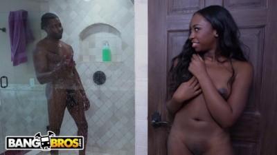 Kokohontas Takes Big Black Cock from her Step Dad Isiah Maxwell