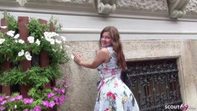 18 Jahre junge Renata ANAL gefickt bei Strassen Casting