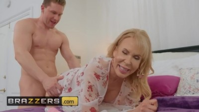 Busty blonde milf Erica Lauren gets big dick for motherday