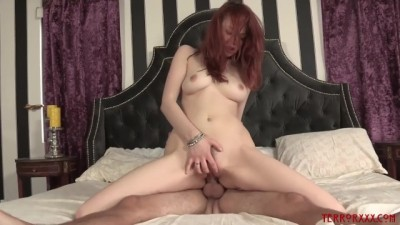 Bree Daniels transforms into hottest cock craving redhead