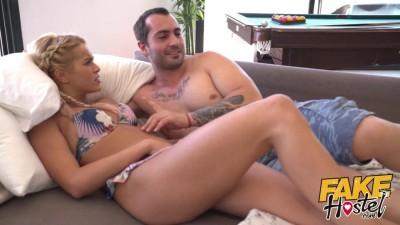Fake Hostel Girlfriend seduced