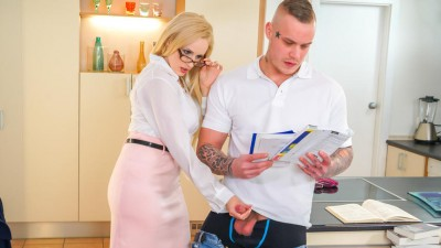 Raunchy Teacher Wants To Teach Well Her Student