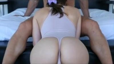 Big natural tits creampie