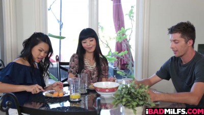 Cindy Starfall and Marica Hase are two hot asians
