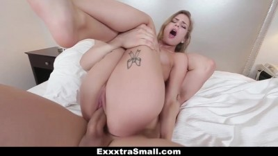 Tiny Teen Sydney Cole Gets Drilled By A Huge Cock!