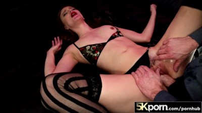 Izzy Lush Covered in Jizz at 60FPS