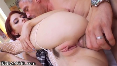 Schoolgirl Lola Fae SQUIRTS From Anal Deep Dicking