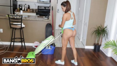 Busty Latin Maid Julianna Vega Sucks And Fucks For Cash