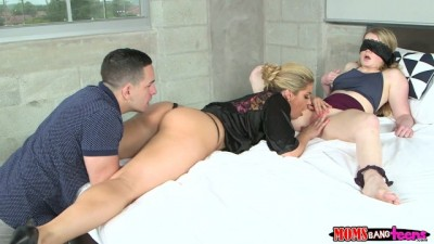 Milf shows couple how to fuck