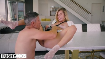 Spoiled Teen is Punished And Gaped By Music Teacher