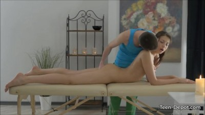 Jordan Enjoys First Teen Massage
