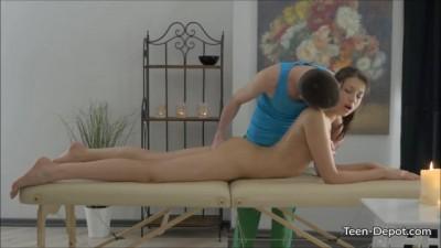 Jordan Enjoys First Teen Massage