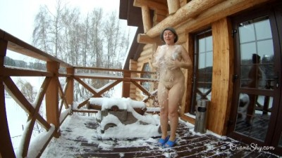 Winter motel mischief and public flashing dare