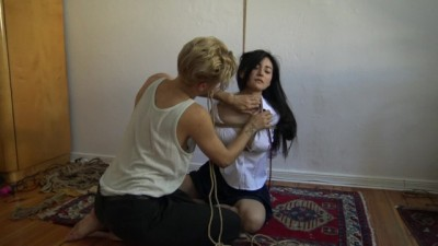 Me suffering in rope and shared an intense moment