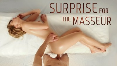 A Surprise Inside Her Gets Satisfied By A Masseur