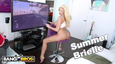 Busty Blonde MILF Summer Brielle Squirts All Over Mike Adriano