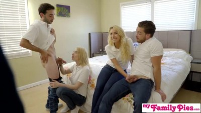 Orgy Fuck In Front Of StepMom