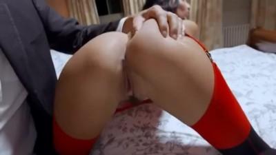 Arab babe loves sensual anal fuck