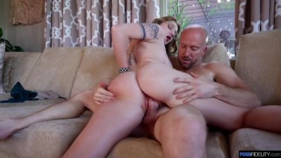 Aria Kai and Ryan Madison - First Creampie Ever!