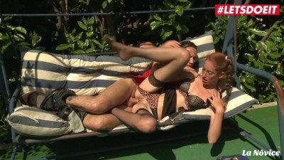 Horny French Thot Gets Both Holes Drilled Outside - Katorsex