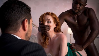 Ella Hughes get pounded by bbc, black is better