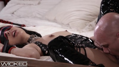 Gina Valentina Fucked & Whipped in Leather