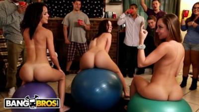 Jada Stevens, Remy LaCroix & Dillion Harper Dorm Room Orgy