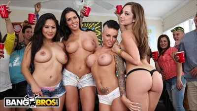 Rachel Starr, Jessica Bangkok & Remy LaCroix Invade College Dorm