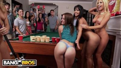 Rose Monroe, Tasha Reign & Zoey Monroe Raid College Dorm