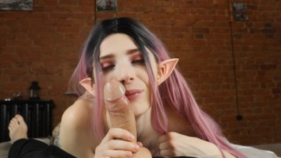 Submissive Elf Fulfills all the desires