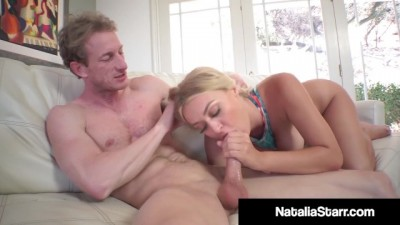 All Natural Beauty Natalie Starr Gets Banged by Photographer