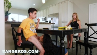 Black Step Sister Maya Bijou Fucks Brother Juan El Caballo Loco