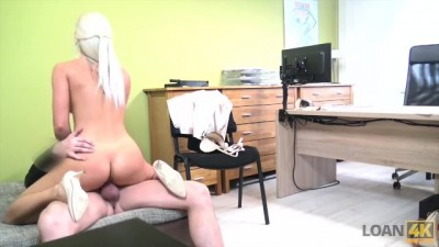 Absolutely Gorgeous Blonde Girl has Wonderful Sex for Cash