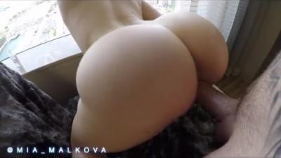 Mia Malkova Bouncing her Perfect Ass