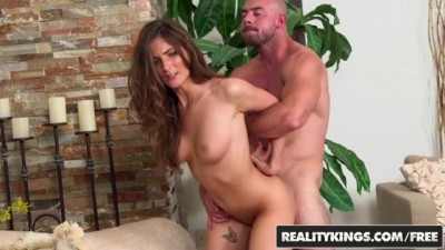 Fit Blonde Teen Molly Jane Shows off her Big Tits