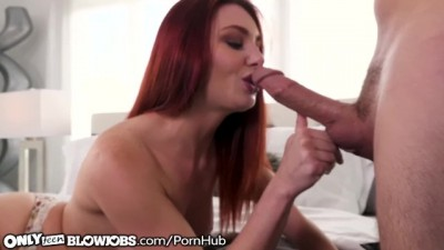 Redhead Cam Slut Lacy Lennon Throats for Audience