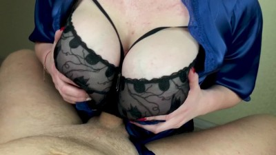 I like to Fuck Big Tits of my GF - POV Titfuck