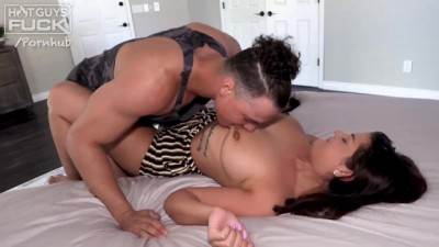 Curvy PAWG Young 1st Timer Loves the Big Fat Dick