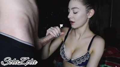 Sweet Blowjob before Bed