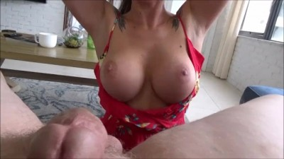 Big Breasted Step Mom needs Cum