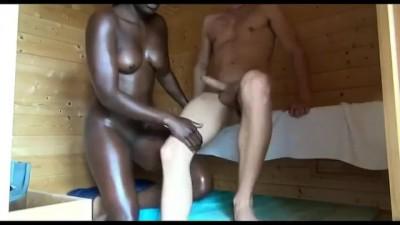 Black Teen Maid Fuck the White Man