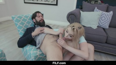 Sweet Young Lexi Lore Takes a Load from her Psychiatrist