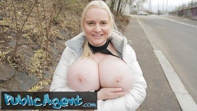 Fucks Blonde Jordan Pryce's Massive Tits