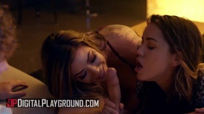 Karma Rx & Alina Lopez Share in Threesome
