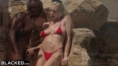 Kendra Sunderland on Vacation Fucked by Monster Black Dick