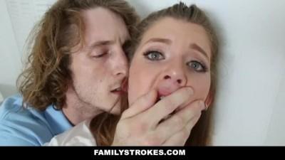 Nerdy Stepbro Seduced by Horny Sister