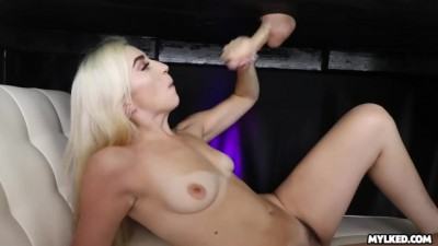 She just Turned Legal - now she can MILK his Cock