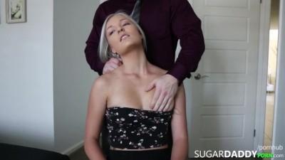 Hot Blonde Young just Likes Fucking OLDER MEN