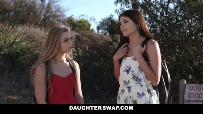 DaughterSwap - Hot little Blonde Caught Webcamming by BFFS Dad Pt.2